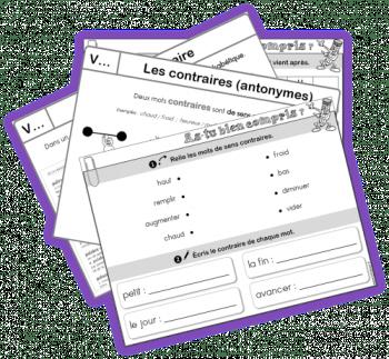 leçons EDL français conjugaison grammaire orthographe vocabulaire CE1