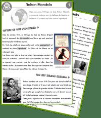 Nelson Mandela documentaire CE2