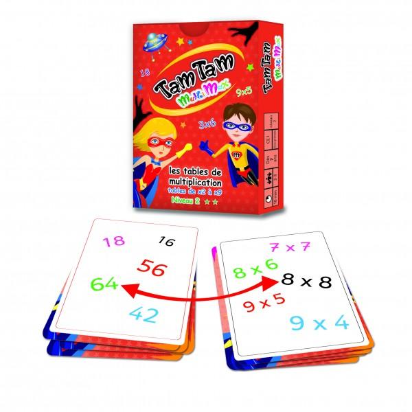 Des jeux pour apprendre les tables de multiplication - Apprendre les tables de multiplication ...