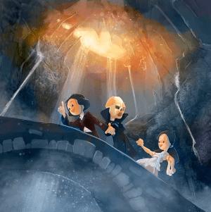 Le fantôme de l'Opéra Boulanger