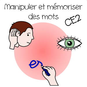manipuler et mémoriser des mots CE2