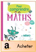 Pour comprendre les maths CE1 2019 acheter