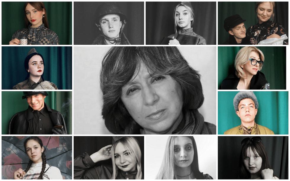 Творча група постановки, у центрі – Світлана Аліксієвіч