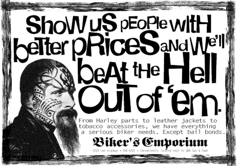Biker's Emporium - Beat Hell Out