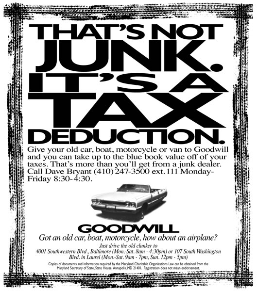 Goodwill - Not Junk