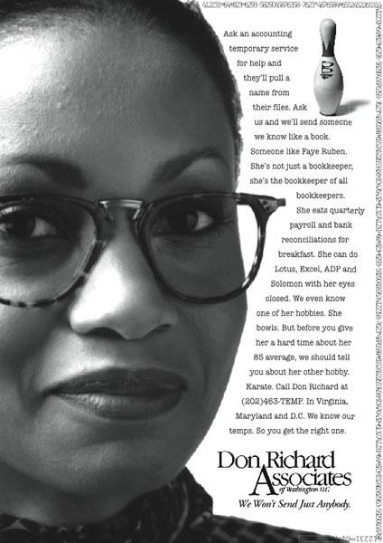 Don Richard - Bowler (Print)