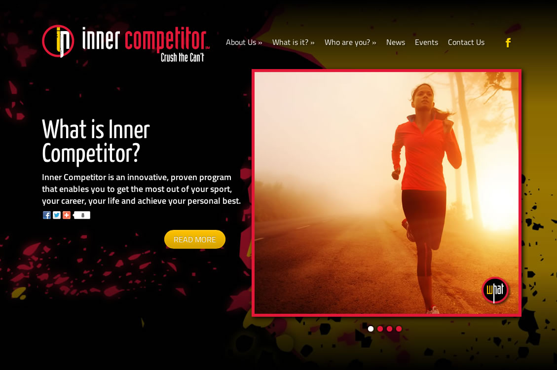 Inner Competitor (WordPress Website)