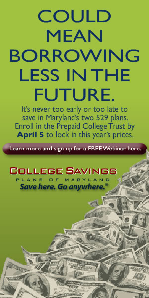 College Savings Plans of Maryland (Web Banner)