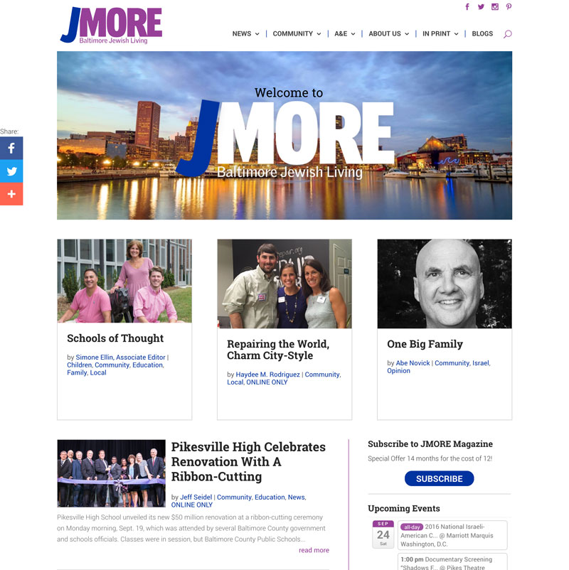 JMORE - Baltimore Jewish Living