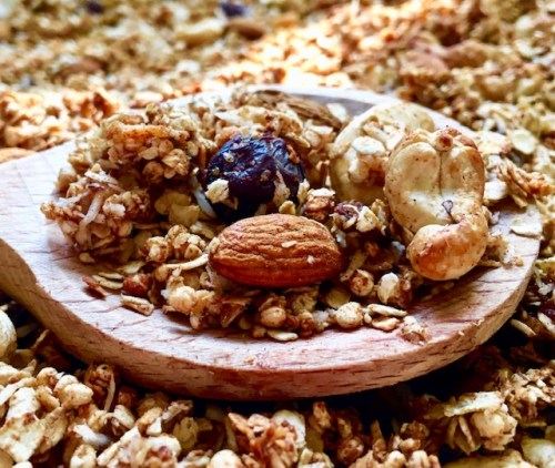 granola met noten