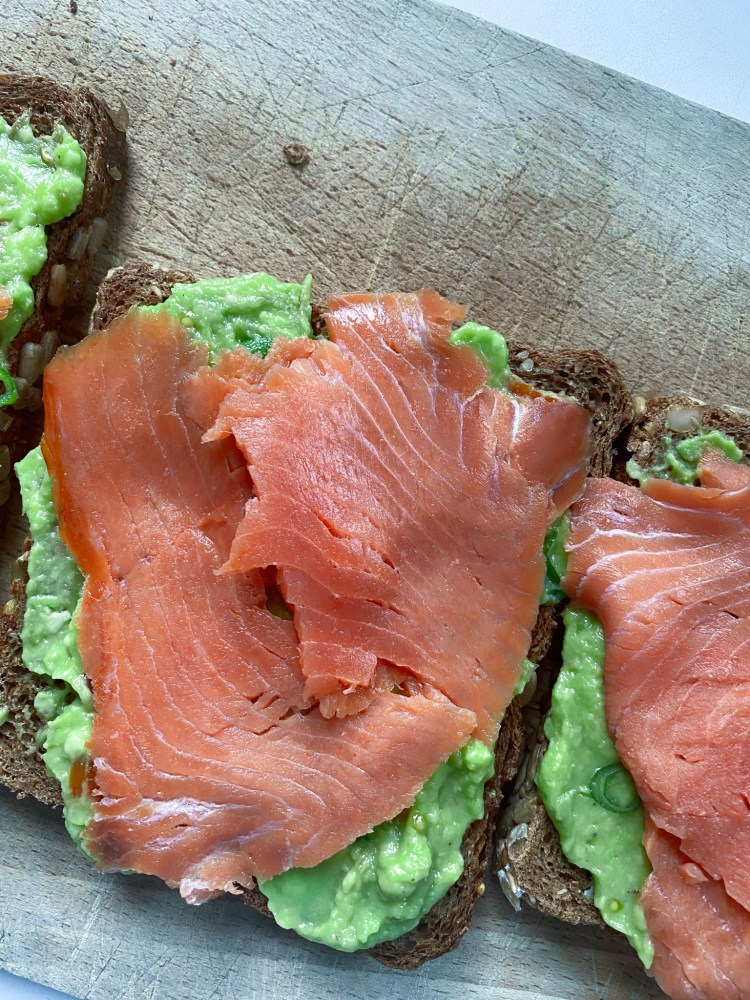 sandwich avocado zalm