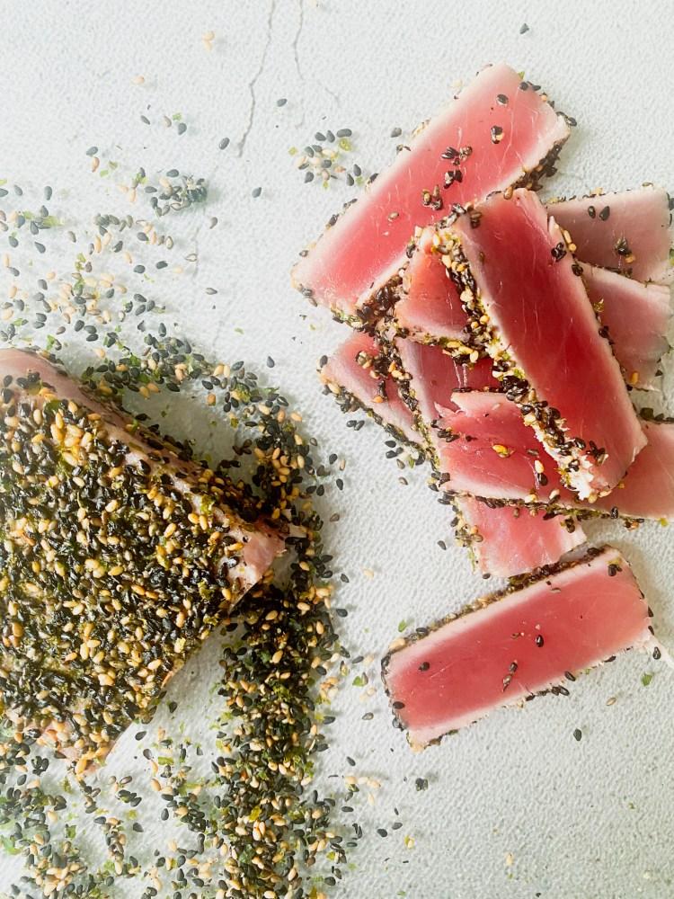 tonijn tataki