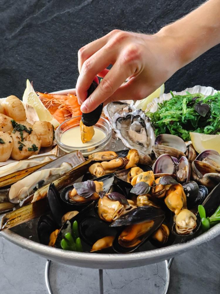 plate fruit de mer