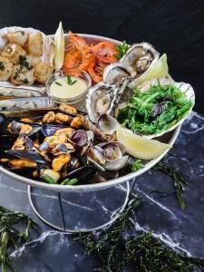 fruits de mer met mosselen