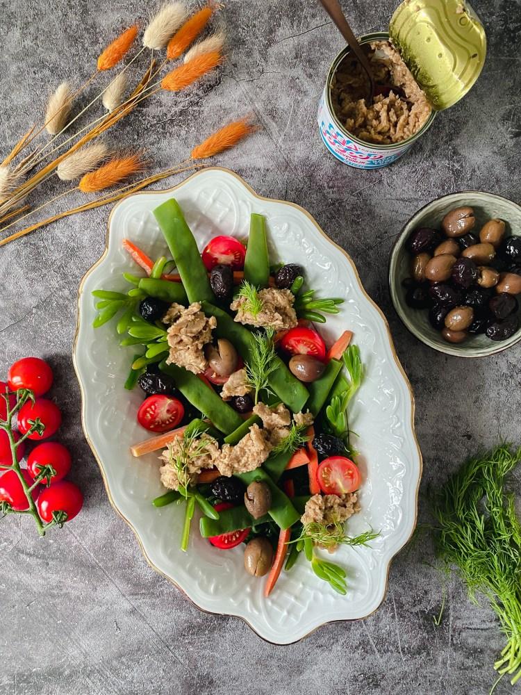 visvrije tonijn salade