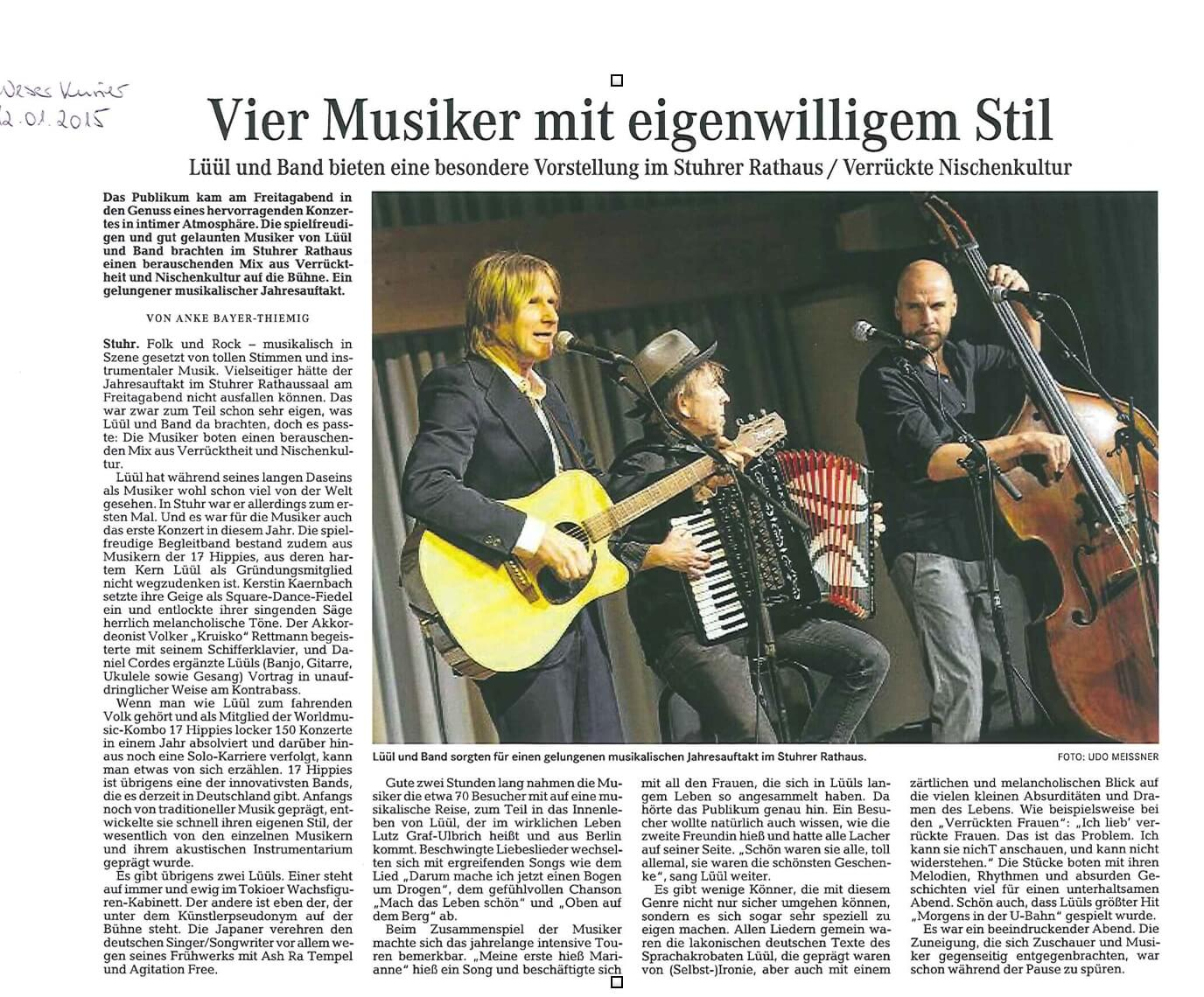 Lüül & Band in Stuhr