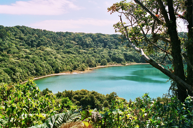 druhý kráter Poasu - laguna