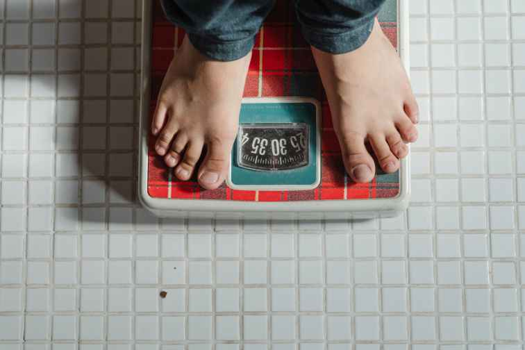 unexplained weight gain - scale
