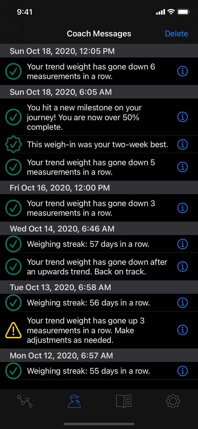 luuze weight loss coach - coaching and guidance