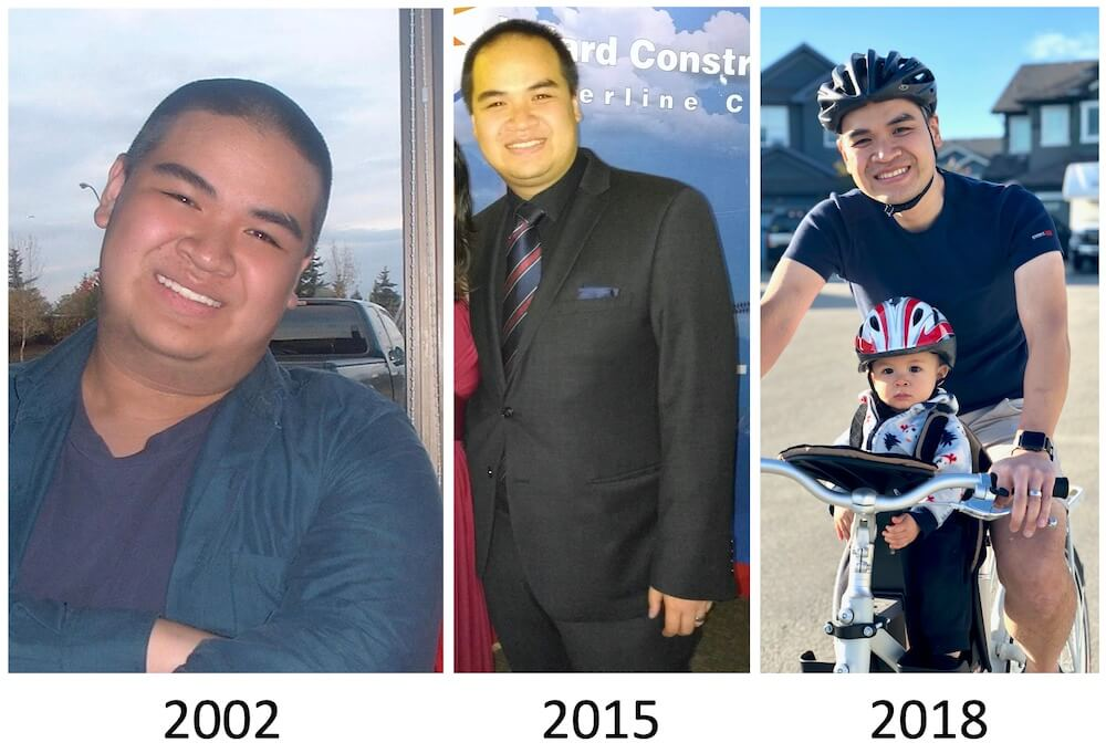 weight loss progress motivation and commitment Andrew tracking