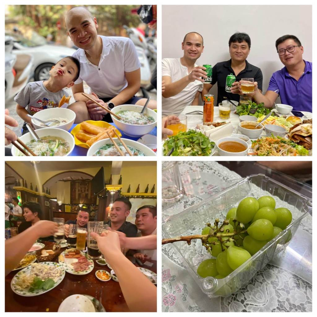 My meals in Vietnam, where I maximized my Joy to Calorie ratio, and decided to ignore weight loss.