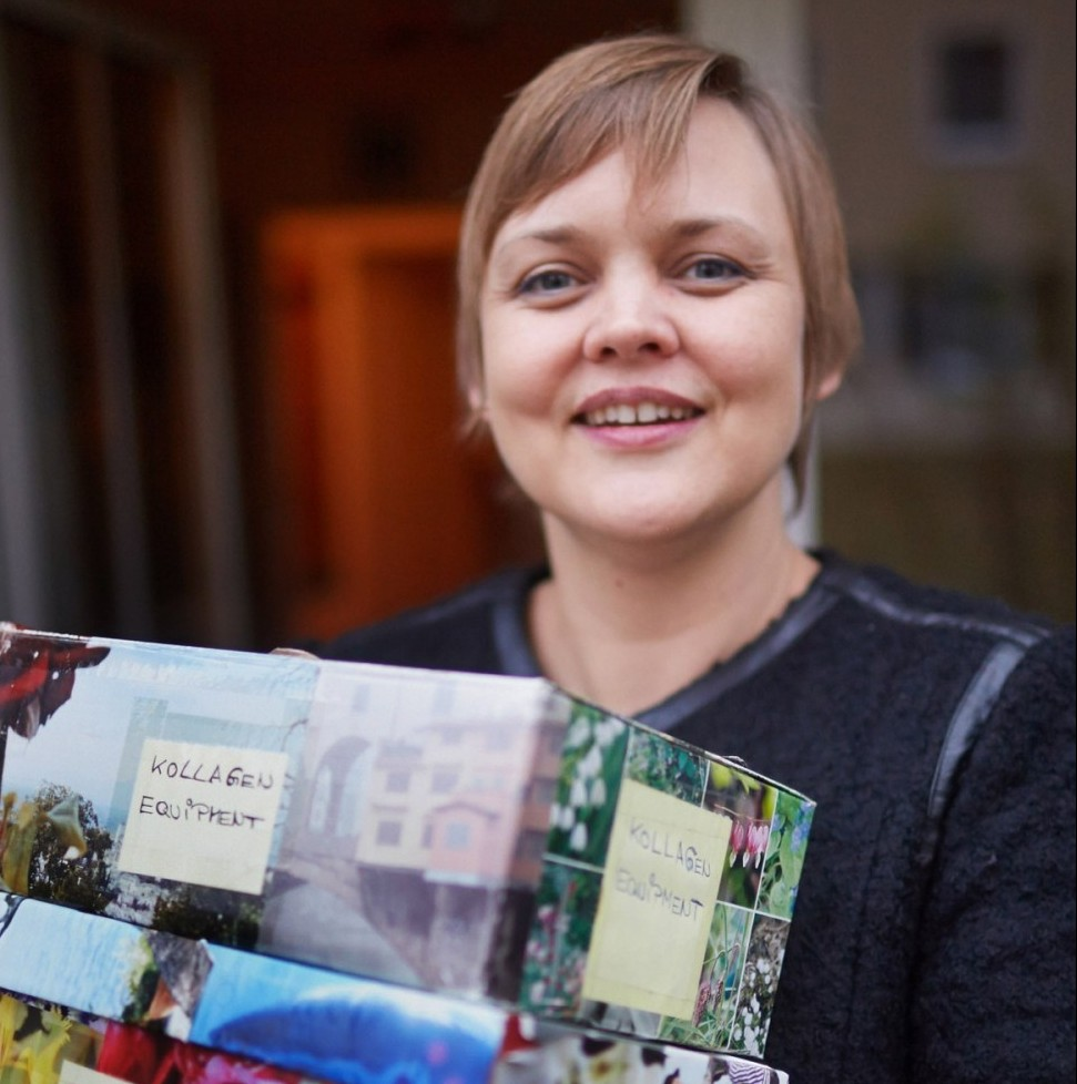 Luva Rüggeberg schafft Raum durch Ordnung im Außen und im Innen