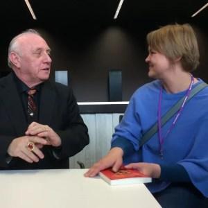 Richard Bandler und Luva Rüggeberg beim NLP-Seminar