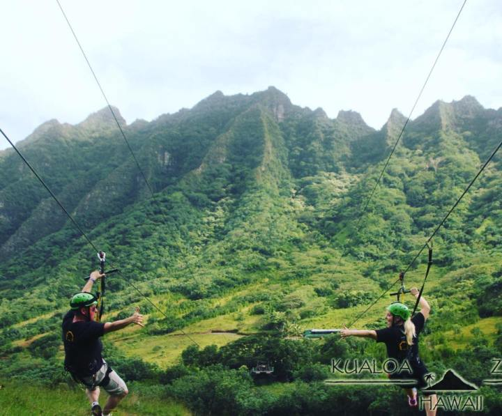 Our Day at Kualoa Ranch – Ziplining in O'ahu