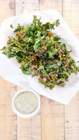 Whole 30 Kale Chips