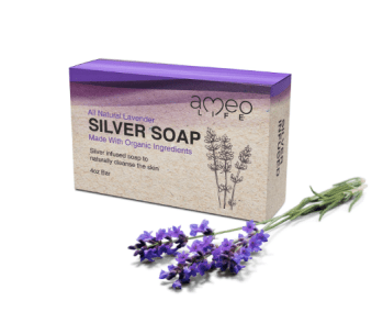 Benefits of Silver - Lavender AmeoLife Soap
