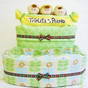 Triplets in a Pea Pod