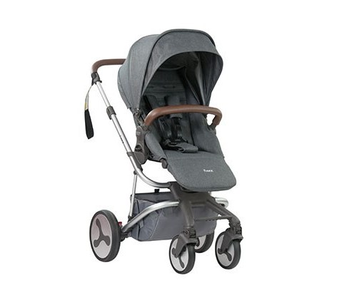 flexx stroller charcoal