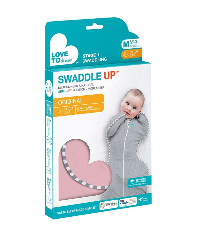 Pink Swaddle Up