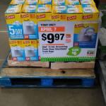 Home Depot:  Glad 13 Gal. Drawstring Fresh Clean Trash Bags Only $8.97 Each April 7!!