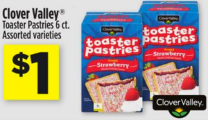 Dollar General:  Get THREE Toaster Pastries For $1!!!  7/20-7/22