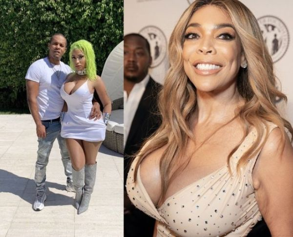 """""""So he's a killer & a sex offender"""" - Wendy Williams shades Nicki Minaj and her husband Kenneth Petty (Video)"""