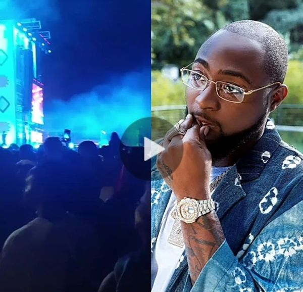Fans Ignore Davido At Burna Boy's Concert (See Video)
