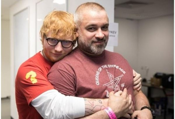 Ed Sheeran's Manager  Stuart Camp Who Started Off By Working At A Chicken Factory Made £30M Last Year