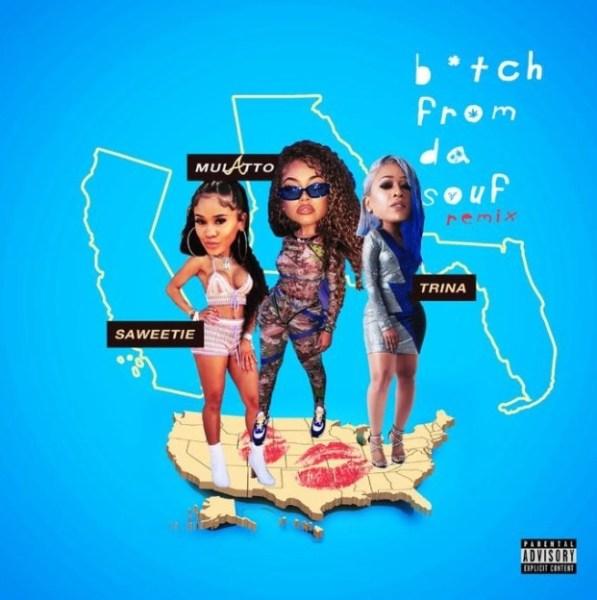 Mulatto ft. Trina & Saweetie Bitch From Da Souf (Remix) mp3