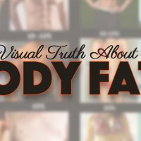 Visual Truth Of Body Fat Percentages Chart