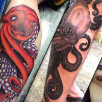24 Amazing Octopus Tattoos