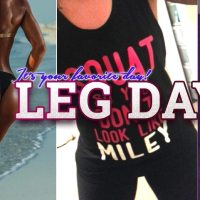 Leg Day - Your Favorite Gym Day Motivation Pics