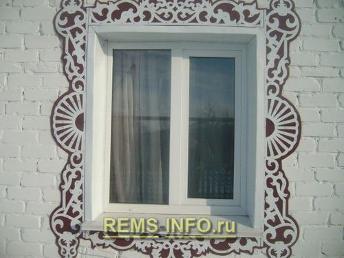 Резные наличники на окна из плоского листа делаем своими