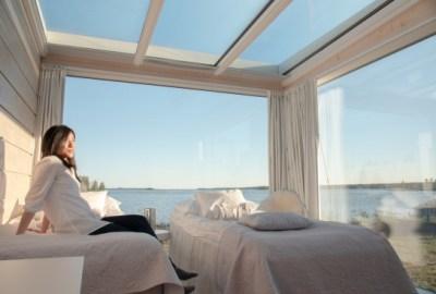 Kemin LumiLinna-alueen Seaside Glass Villat voittivat World Luxury Hotel