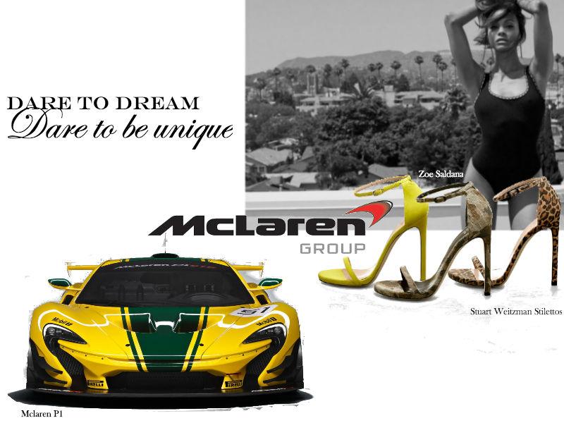 Mclaren & Stuart Weitzman Lux Afrique