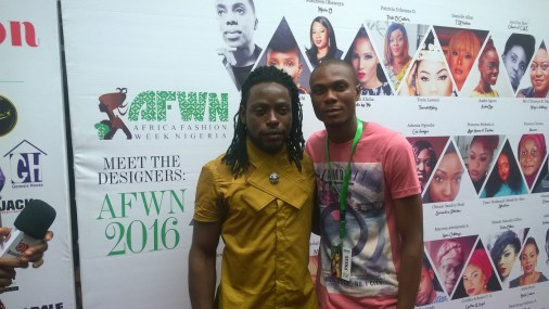 "Winner of Next Top Fashion Designer 2016 ""McStell Fashion Gallery"" –Okpa McCoy & Tundai"