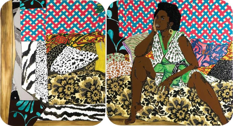 Lux Afrique, Mickalene Thamas, Art Fine