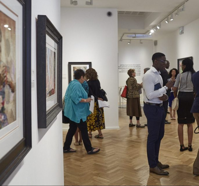 lux afrique african art guests