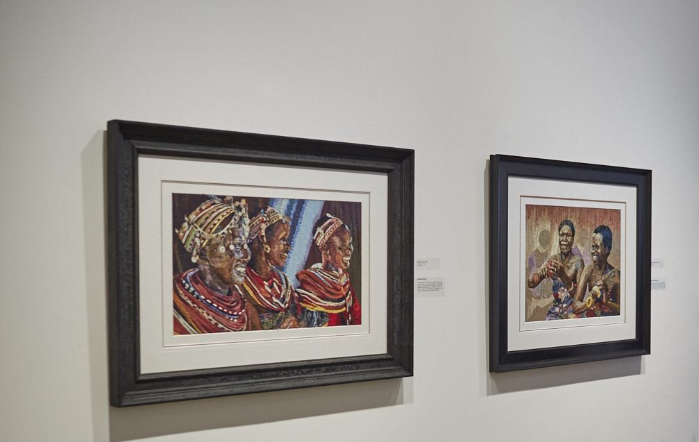 lux afrique african art yaw obuobi