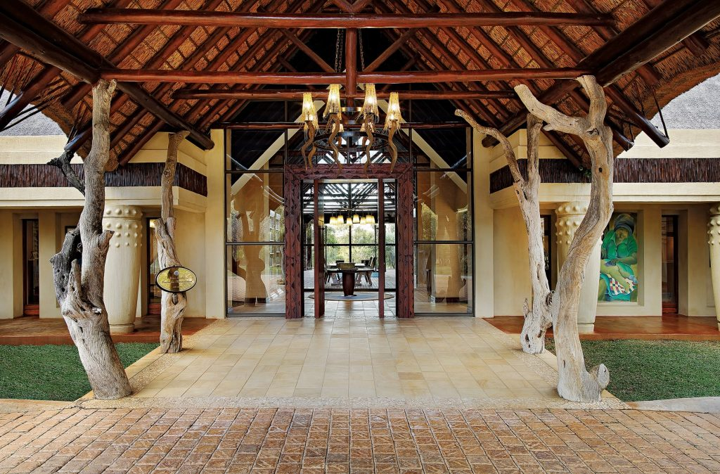 The entrance of the residence that is a part of the Mantis Collection.